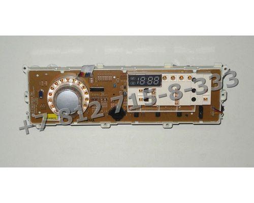Электронный модуль - часть с дисплеем для стиральных машин LG F80B8MD EBR75790716