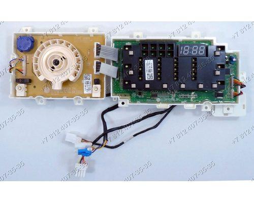 Плата индикации - часть с дисплеем и часть с селектором для стиральной машины LG F14B3PDS7