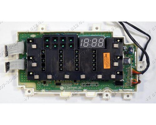 Электронный модуль - плата индикации - часть с дисплеем для стиральной машины LG F14B3PDS7 EBR74143686