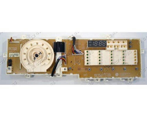 Плата индикации - часть с дисплеем для стиральной машины LG WD-12270FD WD12270FD