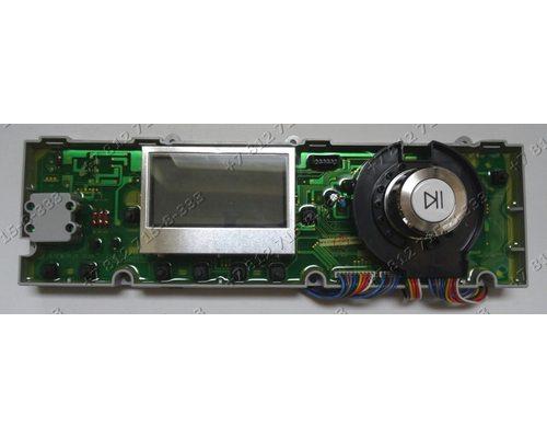 Часть электронного модуля (с дисплеем) для стиральной машины Samsung WF 7522 S8C