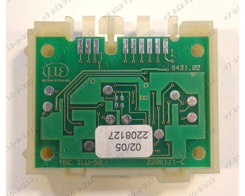 Электронный модуль 107398 стиральной машины Gorenje