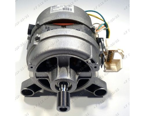 Двигатель Nidec Type WU126T35E00 230-240V 50Hz 480-17000RPM 132751040, для стиральных машин Electrolux, Zanussi, AEG
