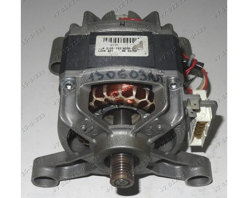 Двигатель CIM 2/55-132/AD29-CP 16002380700 для стиральной машины Ariston ARSD129CIS.L ARSF109CSI.L