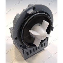 Помпа (насос) универсальная на саморезах для стиральной машины Askoll M19, M224XP, M231 Samsung, LG, Indesit, Ariston и т.д. - МЕДНАЯ ОБМОТКА!
