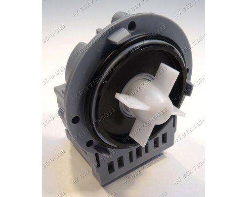 Помпа (насос) на саморезах для стиральной машины Askoll M332 Samsung, LG, Indesit, Ariston и т.д.! Алюминиевая обмотка!
