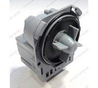 Насос для стиральной машины Electrolux, Zanussi, AEG на защелках, контакты сзади под разъем Askoll M221, M220 290909