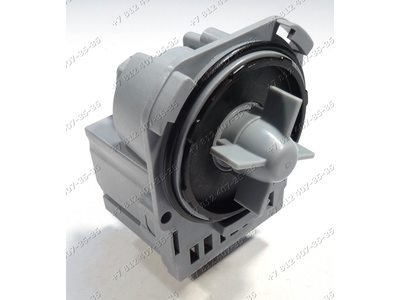 Насос для стиральной машины Electrolux, Zanussi, AEG на защелках, контакты сзади под разъем Askoll M221, M220 290909 и т.д.