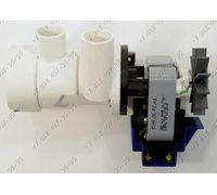 Насос для стиральной машины Indesit WDN 2296 XW, WDN 867 W, WDN 2067 и т.д. старого образца 90 W в сборе с улиткой и фильтром plaset 7402/59389,plaset 7402/51970