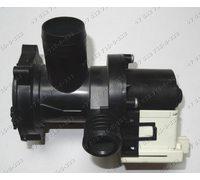 Помпа в сборе с улиткой и фильтром для стиральной машины Indesit EWUC4105CIS Ariston MISE705SLCIS RST703DW