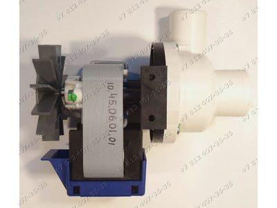 Насос сливной для стиральной машины Ariston, Indesit 100 W 7402/55878 KLB12TXBR, AV931CFR, MLS1200 и т.д.