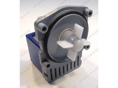 Насос для стиральной машины Bosch WFF1200-WFF1205 WFF1201, Siemens на 4 саморезах, контакты сзади под разъем и т.д.