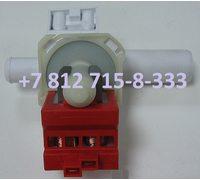 Насос для стиральной машины Ardo, Whirlpool, Bosch, Siemens на 4 защелках контакты сзади раздельно Copreci