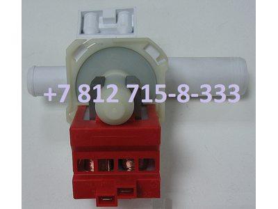 Помпа для стиральной машины Whirlpool, Ardo, Siemens, Bosch с высокой крыльчаткой контакты сзади раздельно Copreci и т.д.