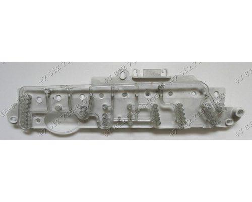 Панель платы индикации в сборе с светодиодами стиральной машины Zanussi ZWS1030 914756560-01