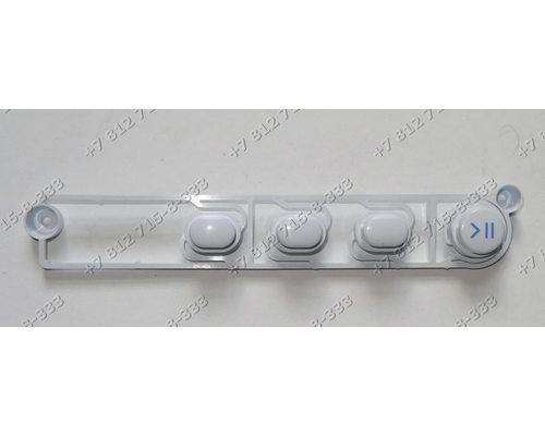 Блок клавиш для стиральной машины Indesit IWUD4085 IWSD71051CIS