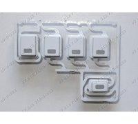 Клавиши доп функций - блок клавиш для стиральной машины Ariston ARSF 125