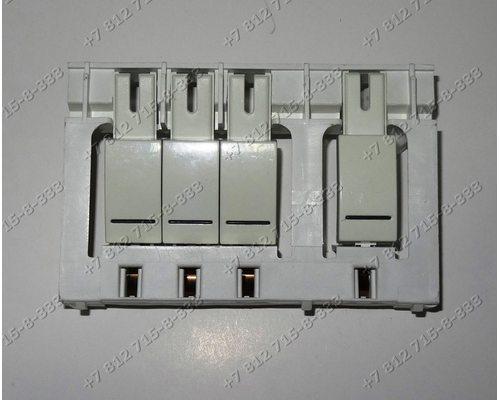 Блок клавиш в сборе для стиральной машины Siemens C10