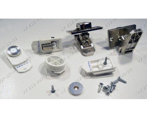 Комплект петель фасада для встройки сма стиральной машины Bosch Siemens WKD28540EU/01