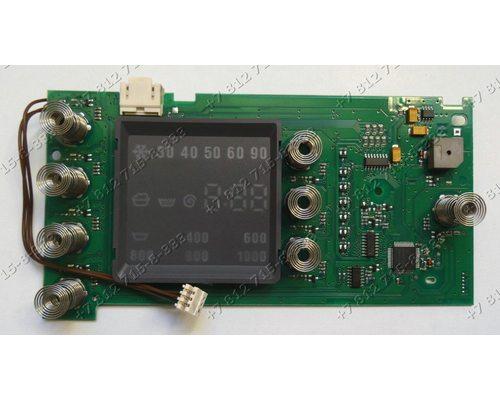 Плата индикации стиральной машины Bosch WLG20261OE/01