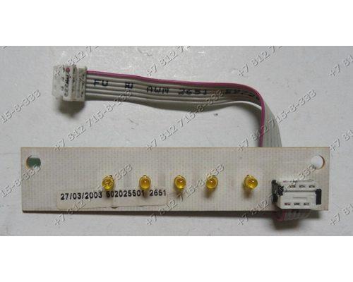 Индикации - лампочки стиральной машины Ardo TL800EX