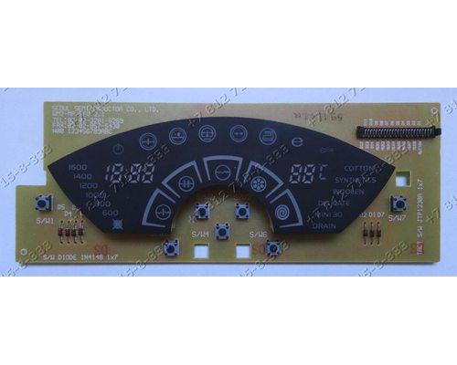 Плата индикации стиральной машины Beko WB9000
