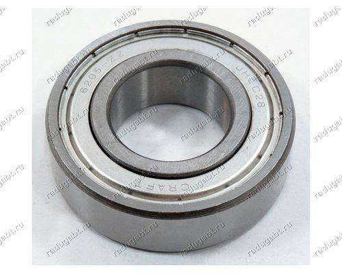Подшипник 205 Craft - 25*52*15 мм (6205, 0725) для стиральной машины