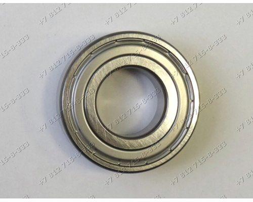 Подшипник 6 205 25*52*15 стиральной машины Ariston AL1256CTXR AS1047CTXEX Samsung P1091