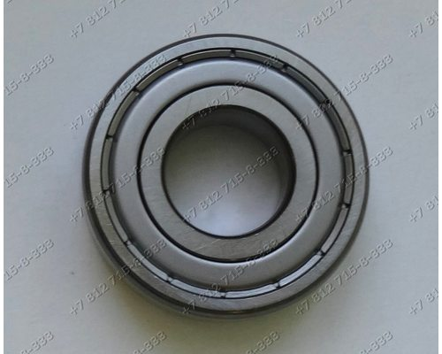 Подшипник 204 SKF - 20*47*14 мм (6204, 0724) для стиральной машины