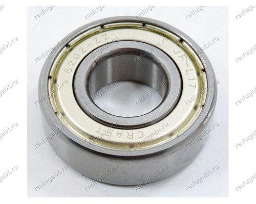 Подшипник 202 Craft - 15*35*11 мм (6202ZZ, 0722) для стиральной машины