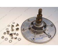 Фланец барабана для стиральной машины Ardo T80X под гайку, 6 болтов, 204 подшипник