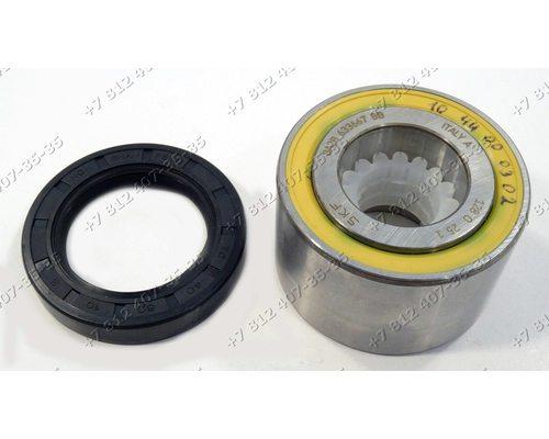 Подшипник и сальник - ремкомплект для стиральной машины Electrolux, Zanussi BA2B633667 SKF и 40*60*10 1246109001