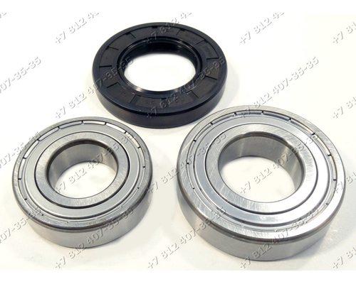 Подшипники и сальник - ремкомплект для стиральной машины Hansa 6205 + 6206 + 35*62*11/13