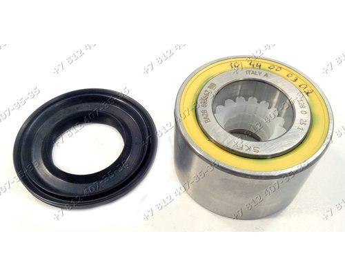 Подшипник и сальник - ремкомплект для стиральной машины Indesit Ariston BA2B633667 SKF и 35*52/65*7/10