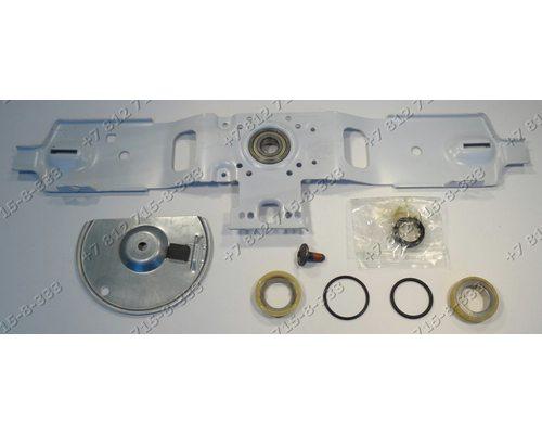 Крепление барабана с подшипниками в сборе стиральной машины Beko, Blomberg, Bosch WOT20352OE/01 Gorenje WT63090