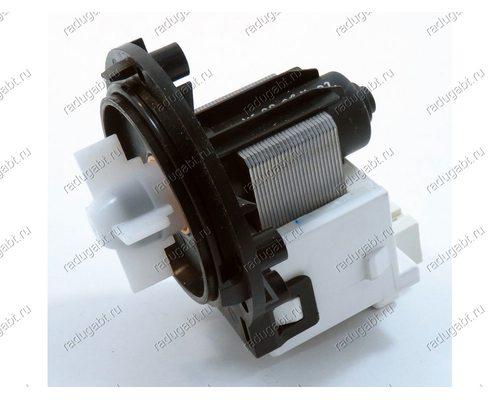 Помпа для стиральной машины LEILIBPX2-285L25W на саморезах, контакты под разъем (фишку)