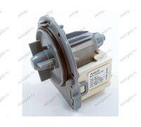 Помпа 25W на 3 саморезах, контакты сзади раздельно для стиральной машины Electrolux, Zanussi, AEG EWT10115W LT81000E ZWQ5100