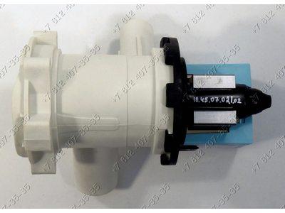 Сливной насос для стиральной машины Bosch, Bosch Maxx4, Siemens и т.д. - Askoll M50 на 3 защелках - ОРИГИНАЛ в сборе с улиткой и фильтром!