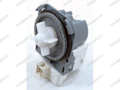 Сливной насос для стиральной машины Bosch, Bosch Maxx4, Siemens и т.д. - Hanyu B20-6AZC на 3 защелках 30W - Китай