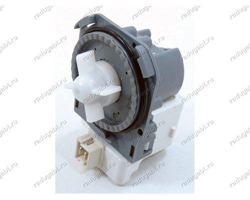 Насос для стиральной машины Bosch, Siemens и т.д. - Hanyu B20-6AZC 30W на 3 защелках