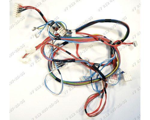 Проводка для стиральной машины Ariston WMSD8215BCIS (S/N:409012560-24818830100)