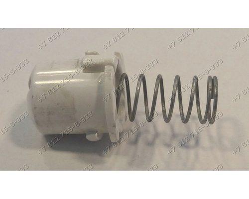Кнопка люка с пружинкой и светодиодом стиральной машины Electrolux EW 1277 F