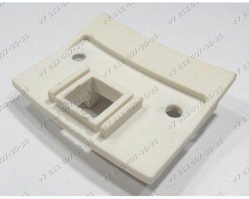 Пластина крючка для стиральной машины Siltal SL348X, Carma, Reeson, Bosch WMV1600, Siemens WV1080, Whirlpool AWG316, Indesit WS620TXR, WS630TX и т.д.