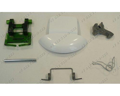Ручка люка (в сборе с крючком, пластиной, осью, пружиной) для стиральной машины Ardo 651027630