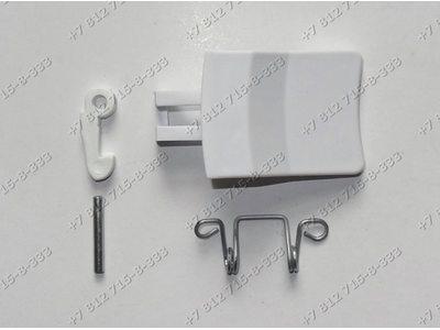 Ручка люка с пружиной крючком и осью стиральной машины Whirlpool Ignis
