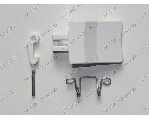 Ручка люка (с пружиной крючком и осью) для стиральной машины Whirlpool Ignis