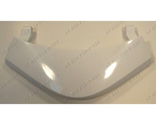 Ручка люка белая, 2 ушка 42023890 для стиральной машины Vestel