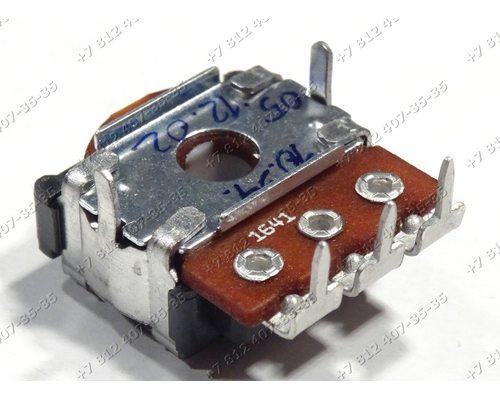 Cелектор-резистор стиральной машины Indesit WIU WIA, WIA100CSI, WIA101UK, WIA81EX, WISA61CSI