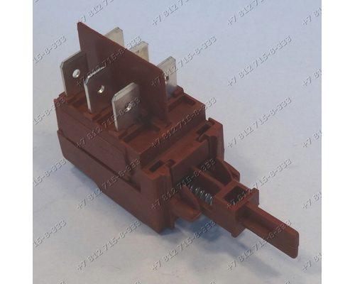 Cетевой выключатель 6 контактов для стиральной машины Ardo