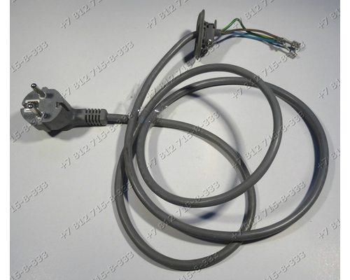 Cетевой шнур cтиральной машины Candy Holiday 1040 R  Aqua 1000DF-07S